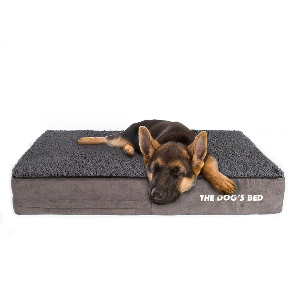 extra bed indestructible amazon cover durable com shredded dp jumbo dog brown with foam pet waterproof large pillow microsuede xxl memory